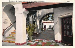 Two-Postcards-El-Paseo-in-Carmel-By-The-Sea-Carmel-California-114358