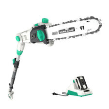 LiTHELi 40V Cordless Pole Saw 10'' Battery Pole Saw w/ 2.5AH Battery and Charger