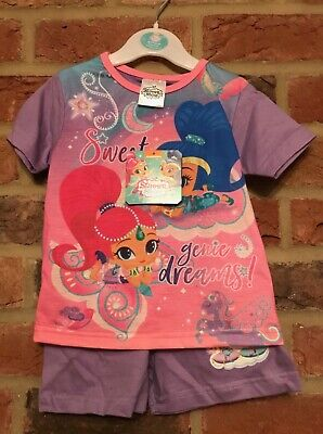 Shimmer and Shine Short Summer Pyjamas 18-24 Months