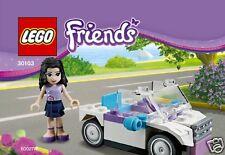 Lego Friends Exklusiv-Set 30103 Emma Cabrio