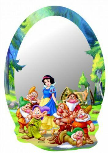 21x15cm #75353 Blanche Neige 7 Nains-Walt Disney Poster Miroir Déco