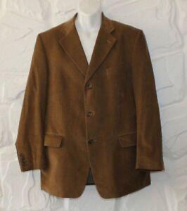 52 Tailored Blazer Length Casual Tan Hip Size Fit Commander Jacket Corduroy 4Rxwqvw1Z
