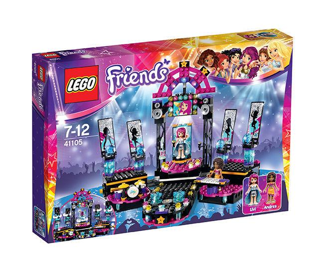 LEGO 41105 Friends Popstar Showbühne Neu&OVP