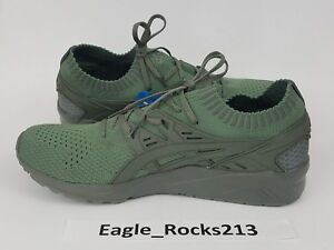 low priced 43ef6 43a05 Details about ASICS TIGER GEL KAYANO TRAINER KNIT AGAVE GREEN SZ 11.5 H705N  8181 III V