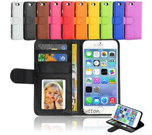 Premium-Flip-Wallet-Case-PU-Leather-Card-Slot-Cover-For-iPhone-8-Plus-6s-7-Plus