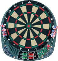 Elektronische Dartscheibe 4 Led 159 Spiele 16 Spieler 12 Pfeile Elektrisch Dart