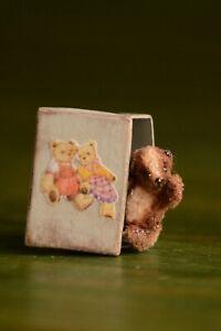 miniature-teddy-bear-Blaze-in-vintage-box