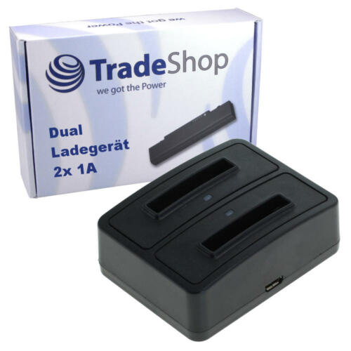 Dual Doppel Akku Ladegerät Ladestation USB für Nokia BL-5C BL-5CA BL-5CB BR-5C