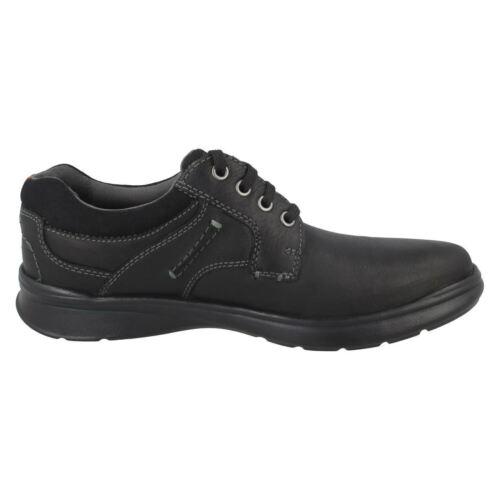 CLARKS Cotrell Plain Mens Leather Lace up Shoe