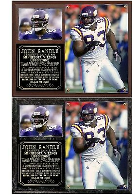 John Randle #93 Minnesota Vikings Legend Photo Plaque