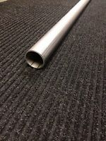 1 1/2 Stainless Steel Exhaust Straight Tubing - 1.5 Outside Diameter - 5' Long
