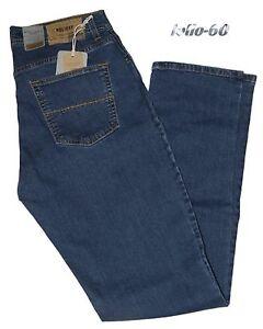 0134709fa3a720 Jeans uomo 46 48 50 52 54 56 58 60 HOLIDAY strech vita alta blu ...