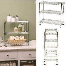 Shelf Cabinet Organizer Rack Storage Tier Kitchen Counter Top Wire Steel Holder