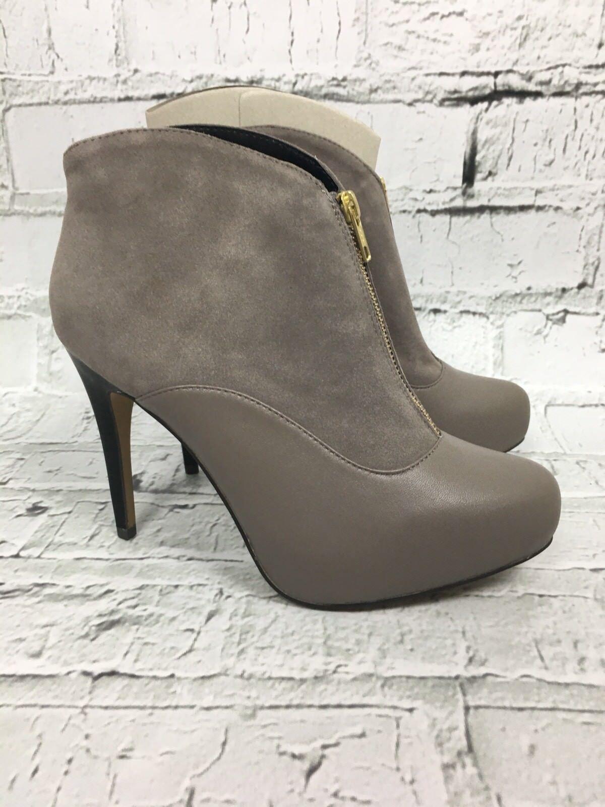 damen NEXT Größe Mink Zip Fasten High Heel Ankle Stiefel Größe NEXT 7 98cbb6