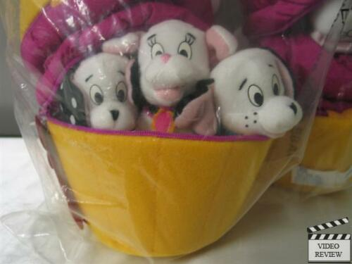 Domino from Applause Sealed Bag Lil/' Dipper,Oddball 102 Dalmatians Pup-cake