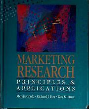 Marketing Research : Principles and Applications