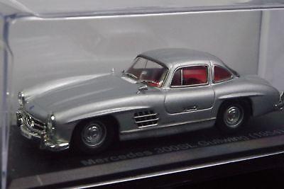 1:43 Ixo Mercedes-Benz 300 SL Gullwing 1954 silber//silver VP