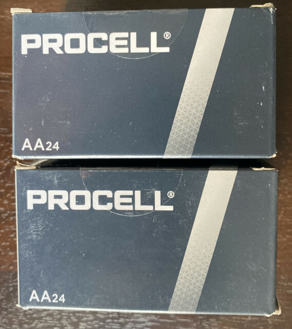 48 AA Duracell Procell Alkaline Batteries 1.5V (PC1500, LR6) FREE FAST SHIPPING