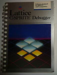 Lattice-C-sprite-debugger-for-IBM-PC-1986-Unused-Evaluation-copy