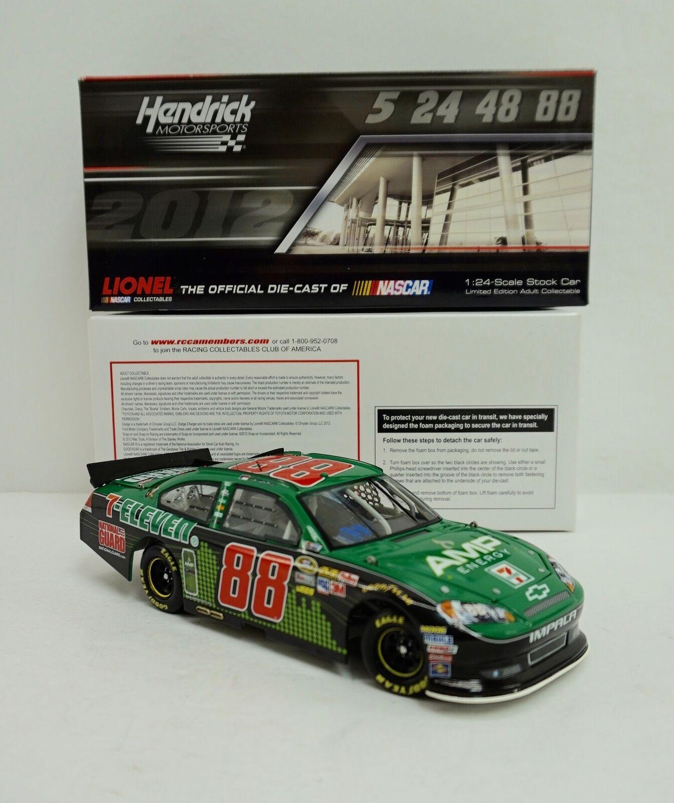 2012 ARC Diecast  Dale  Earnhardt Jr - AMP Energy 7-Eleven -  0943 1676  marque de luxe