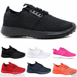 5e12b2f95ce9 Details about LADIES TRAINERS WOMEN GIRLS RUNNING SHOCK ABSORBING LIGHT  WEIGHT GYM SPORTS SHOE