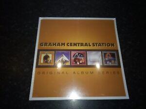 GRAHAM-CENTRAL-STATION-ORIGINAL-ALBUM-SERIES-5-CD-SET-2013-WARNER-NEW-SEALED