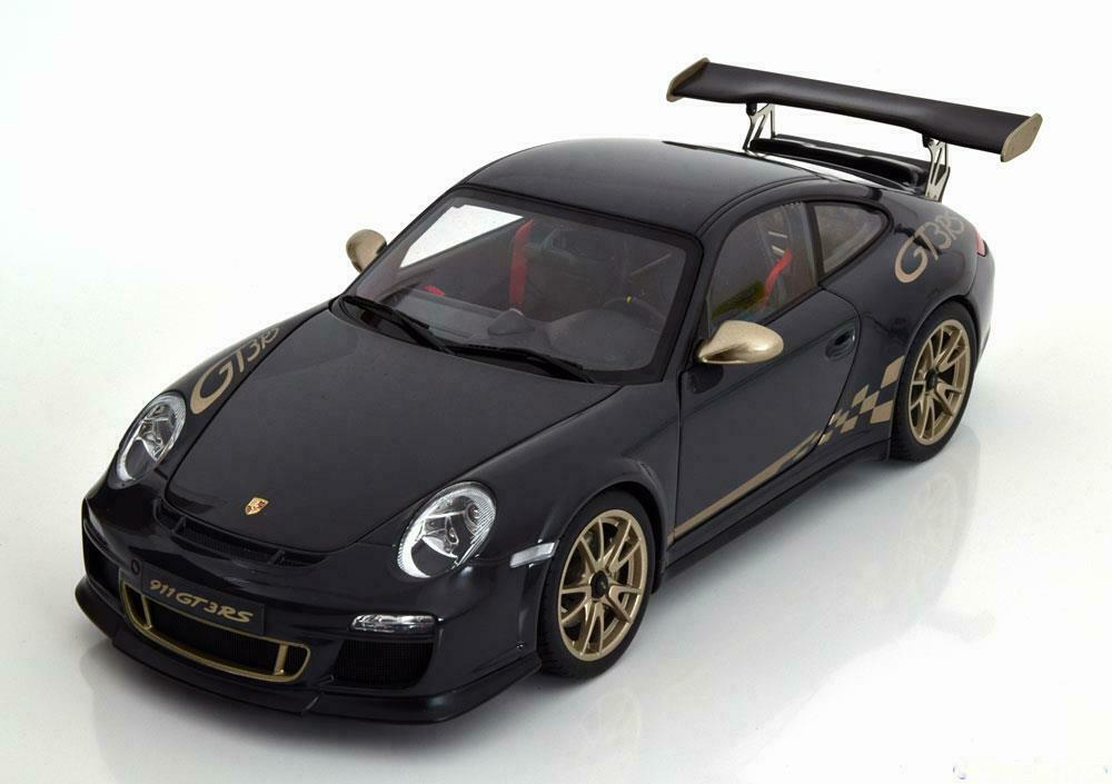 PORSCHE 911 997 GT3 RS 3.8 2010 DARK gris LIGHT oro AUTOART 78142 1 18 METAL