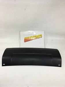 2013 2017 Acadia Rear Bumper Hitch Cover Black New Gm 20982430