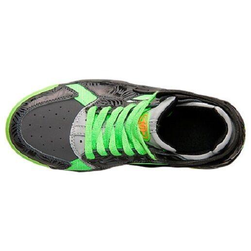 New Nike Flight Lime Huarache GS Size 6.5Y Dark Grey/Black-Flash Lime Flight 705281-002 893456