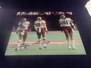Ricky-Sanders-Gary-Clark-POSSE-Signed-Auto-Redskins-11x14-Photo-100-Guaranteed