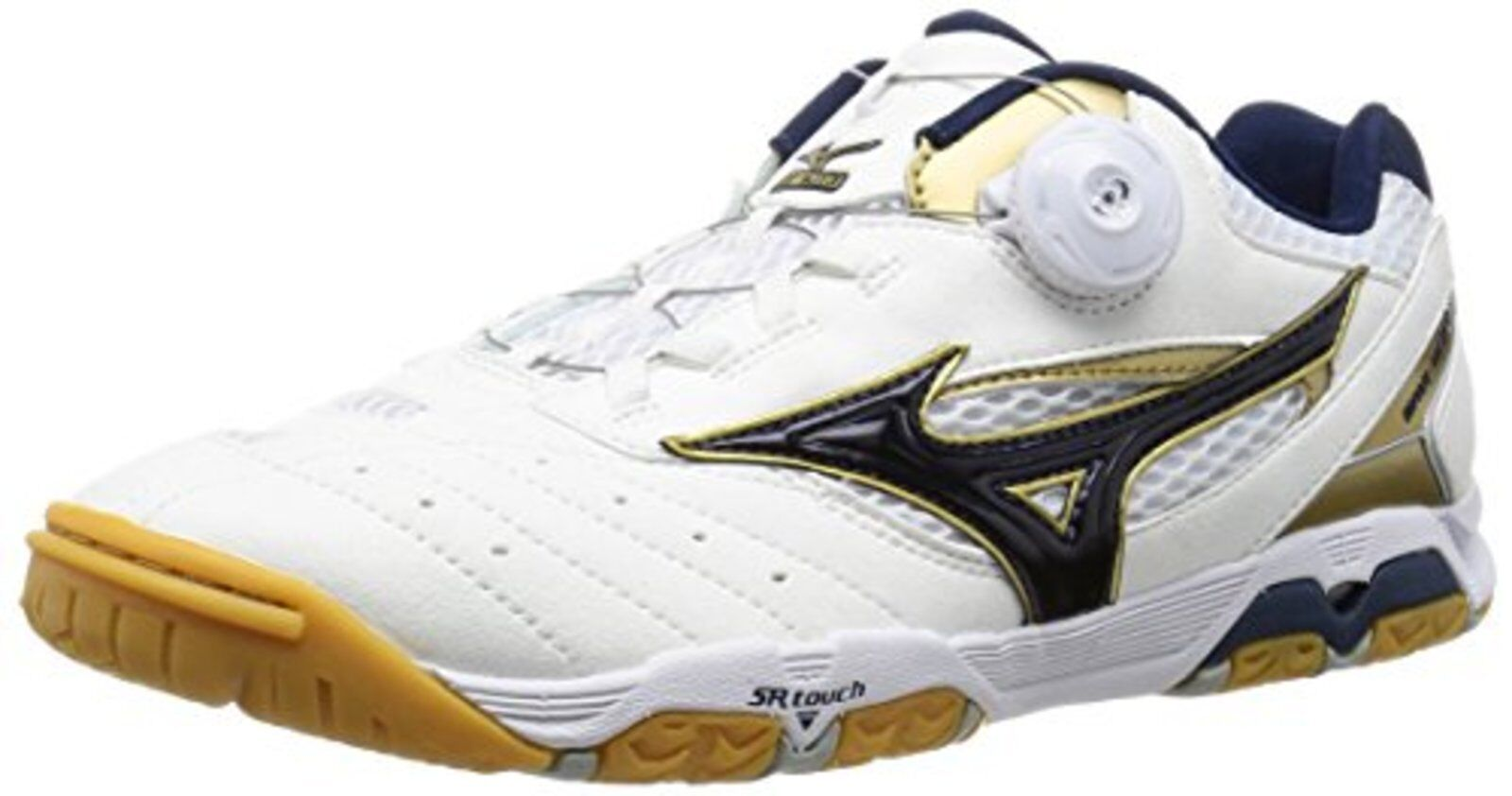 MIZUNO Table Tennis shoes WAVE MEDAL SP3 81GA1512 White gold US10(28cm) F S NEW