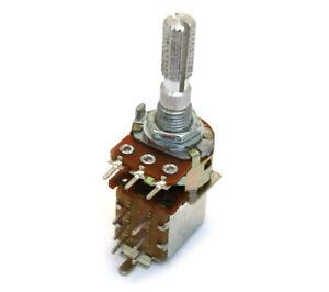 EP-8285-000 250K Bourns Push/Pull Guitar or Bass Potentiometer