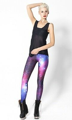 New Sexy Women's Galaxy Leggings Printed Cosmic Fashion Space Pants Skinny