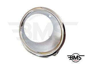 BMW-Mini-Una-COOPER-PARACHOQUES-DELANTERO-cromo-luz-antiniebla-MARCO