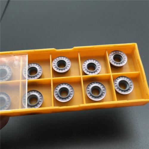 RPMT1204M0E milling cutter tool carbide inserts R5 10pcs RPMT1204M0E-JS VP15TF