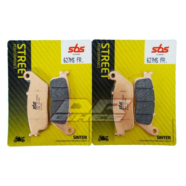Kawasaki Z800 2013 - 2016 SBS Street Excel Sintered Front Brake Pads 627HS