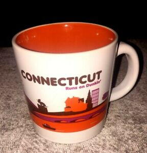 Dunkin Donuts Connecticut Runs On Dunkin Mug Cup 2013