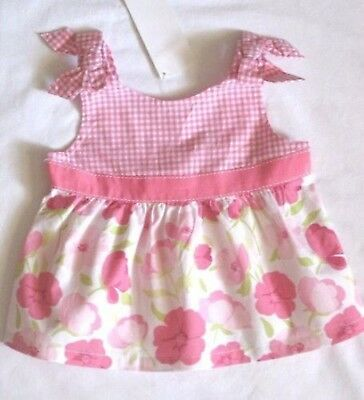 NWT Gymboree Girls Fairy Garden Pink Bow Top Size 3-6 M 2T /& 3T