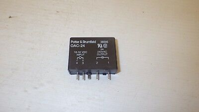 Potter /& Brumfield ODC-24A Ssr Relay Output Module 200 VDC 24 VDC Logic NNB