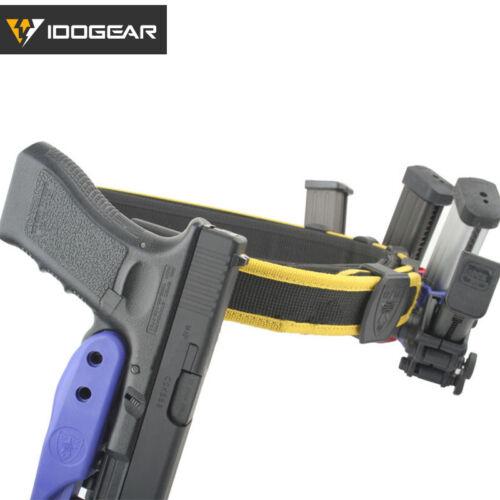 IDOGEAR IPSC Shooting Gürtel Schießen Wettbewerb Taktische USPSA IDPA Airsoft