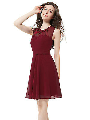 Women Chiffon Short Bridesmaid Party Cocktail Dresses Homecoming Prom 05253