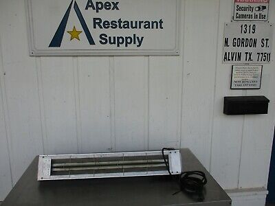 Hatco Grah 36 Glo Ray Aluminum Infrared Strip Heater 120v 5126 Ebay