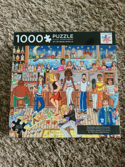 Jigsaw Puzzles 1000 Pieces Used For