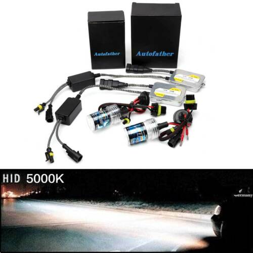 H7 55W HID Xenon Conversion Kit  Bulbs Car Headlight Replace Halogen All Colors