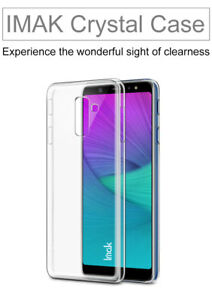 half off 06d15 56617 Details about Imak Slim Transparent Crystal Clear Hard Case For Samsung  Galaxy A6 + Plus 2018