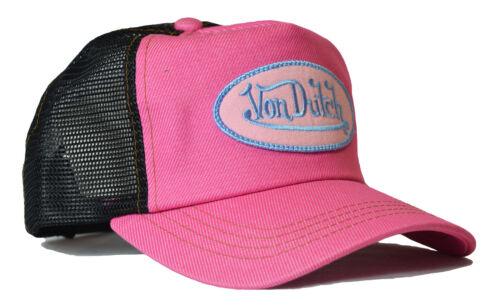 Casquette Basecap Capuchon Chapeau Classic pink Black De van Dutch Mesh trucker base Cap