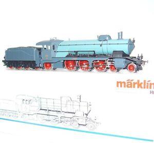 Marklin-AC-HO-German-K-W-St-E-WURTTEMBERG-CLASS-C-Blue-Steam-Locomotive-MIB-RARE