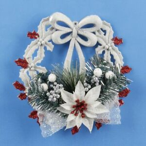 White New Year S Home Christmas Door Decoration Xmas Window Decor