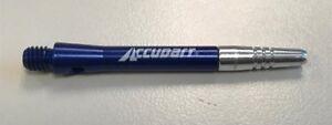 2 Sets Aluminum CENTER SPIN BLUE SHORT Premium spinning dart shafts
