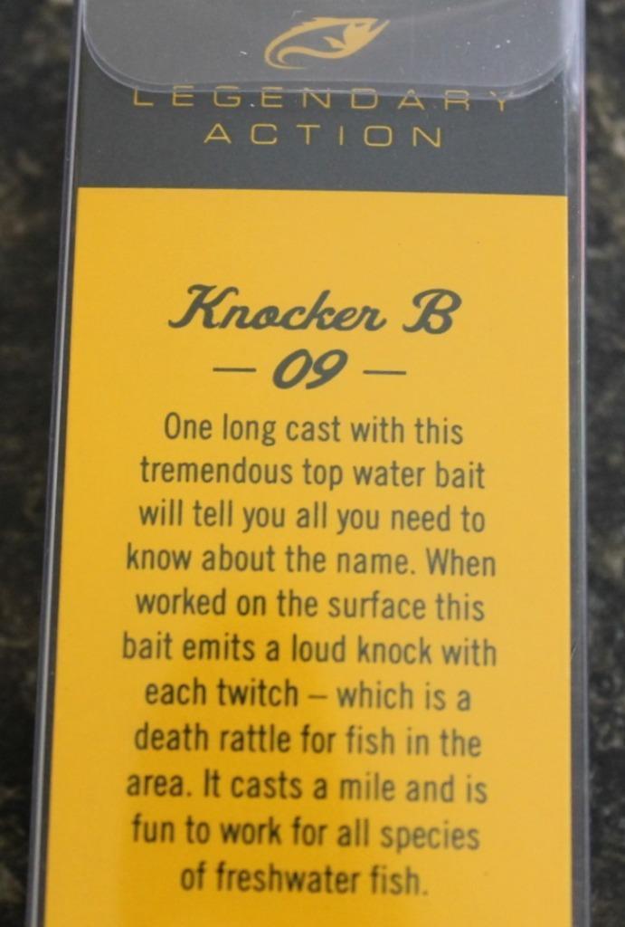 Bagley Baits 9 Knocker B Fishing Bait Shad